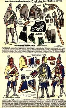 Siebenjaehriger Krieg 1756-1763 (Heer und Tradition - Uniformbogen)