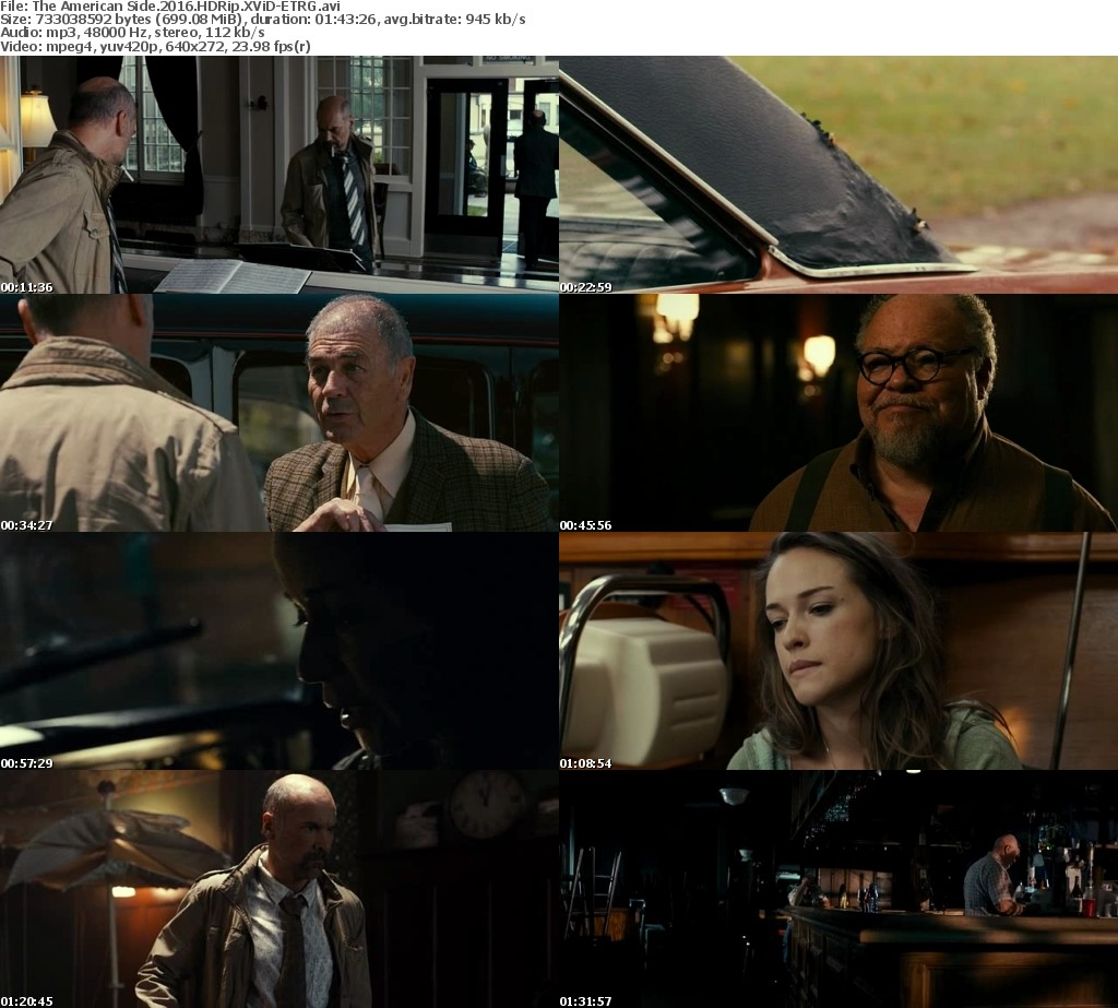 The American Side 2016 HDRip XViD ETRG