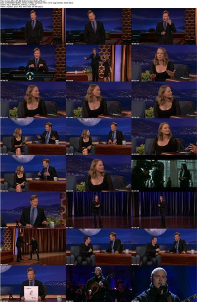 Conan 2016 05 11 Jodie Foster XviD-AFG