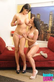 Kendra Lust Eva Karera - Playing With Eva Karera