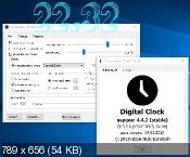Digital Clock 4.4.3 - �������� ���� �� ������� ����