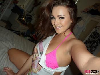 selfshot106 Pink Bikini
