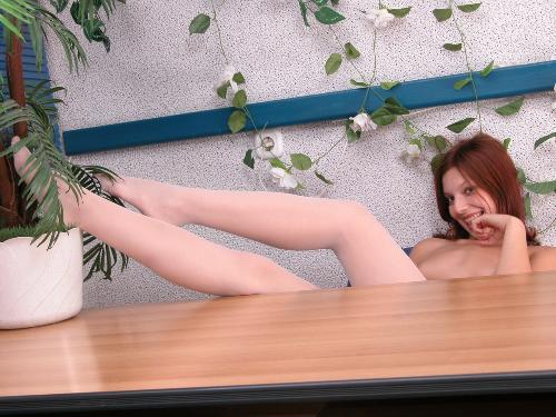 0958-Lana-Office Girl