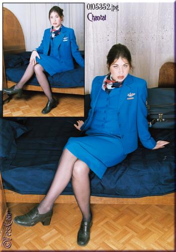 0482-Chantal-Flight Attendant