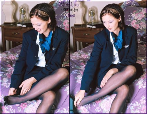 0542-Chanel-Flight Attendant