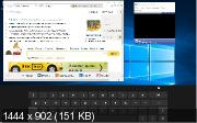 Windows 10 Enterprise x64 v.14332 RS1 Mini by Lopatkin (RUS/2016)