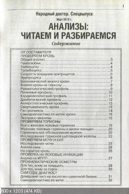 Народный доктор. Спецвыпуск №1 (март 2016)