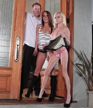 Elaina Raye, Haley Sweet - We Are Fucking With Our Neighbors 2, Scene 2 (2012) FullHD 1080p