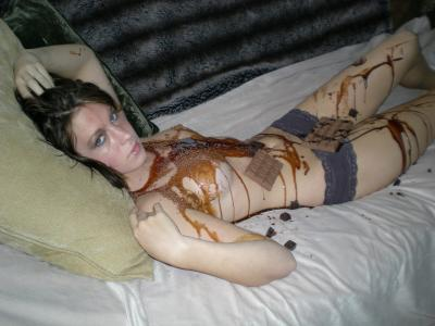 Chocolate erotic pics