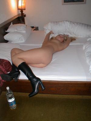 Sweet German blonde posing and dildoing