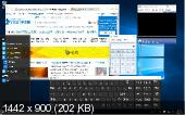Windows 10 Enterprise 2015 LTSB 10240.16841 (16854) by Lopatkin MINI (x64) (2016) {ZH-CN}