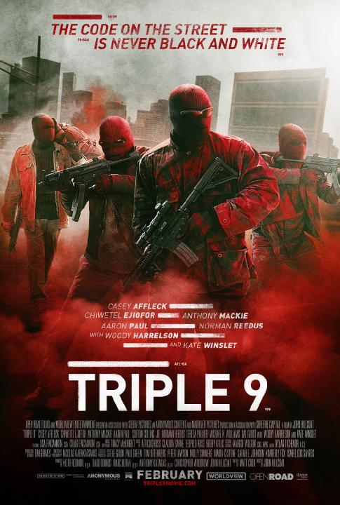 Psy mafii / Triple 9 (2016) PL.BDRiP.XViD-K12 / Lektor PL +rmvb