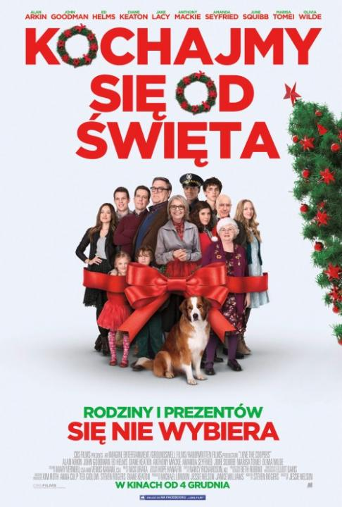 Kochajmy si� od �wi�ta / Love the Coopers (2015)  MULTi.1080p.BluRay.x264-KLiO  / Lektor PL