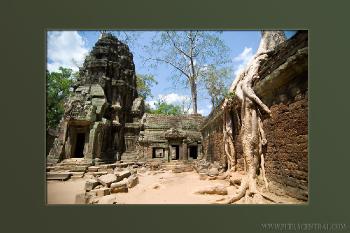 Two Cambodia Wats - Bayon