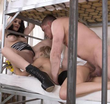 Olivia Jager, Dolly Diore - Prison Cell Control - New Face Humiliated And Ass Fucked (2016) HD 720p