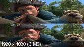 Без черных полос (На весь экран) Робинзон Крузо: Очень обитаемый остров 3D / Robinson Crusoe 3D (Лицензия)   Вертикальная анаморфная