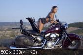 Milena D - Riding Free (120 HQ JPG) Photoset