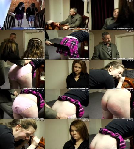 Bailey And Claire Earn A Spanking (Part 1)