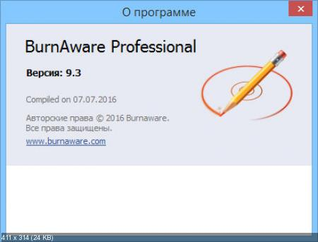 BurnAware 9.3 Professional RePack (& Portable) by KpoJIuK