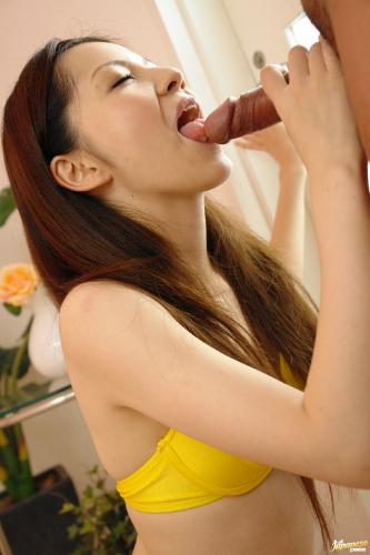 Rina Koizumi - Rina Koizumi Lovely Asian model is getting fucked doggy style