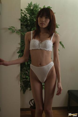 Ibuki - Ibuki Asian model enjoys her shaved pussy