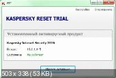 Kaspersky Reset Trial 5.1.0.29 (2016) PC