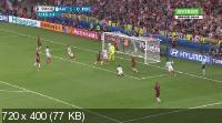 Футбол. Чемпионат Европы 2016. Все голы [10.06-10.07] (2016) HDTVRip