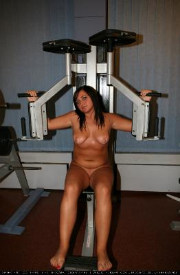 Gymnasts Toning Arms
