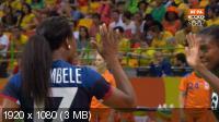 XXXI Летние Олимпийские Игры. Рио-де-Жанейро (Бразилия). Гандбол. Женщины. Группа B. 1-й тур. Нидерланды - Франция [06.08] (2016) IPTV 1080i